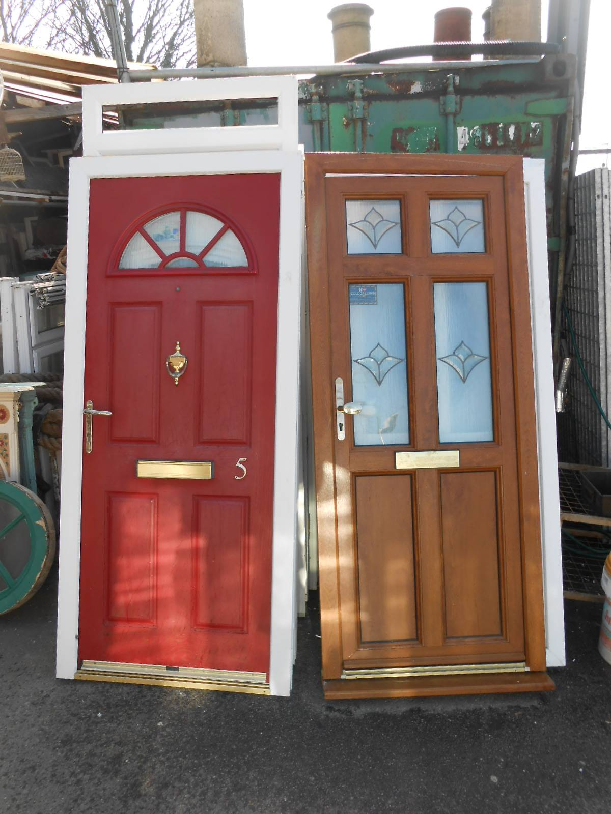 Doors A1 Builders Reclamation Yard Strood Rochester